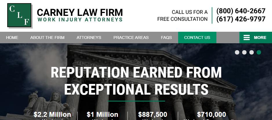 Licensed Compensation Attorneys in Boston