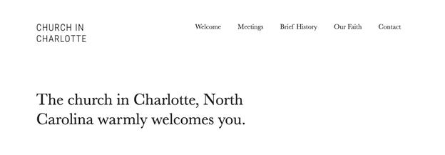 Best Churches in Charlotte