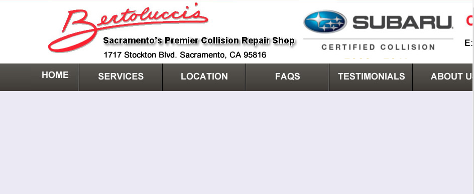 Straighforward Auto Body Shops in Sacramento