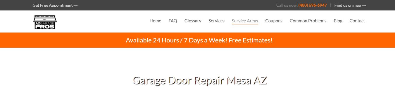 az Best Garage Door Repair in Mesa