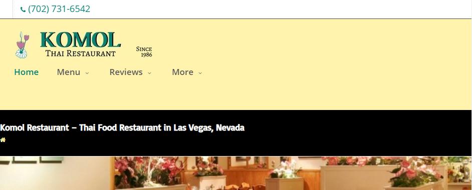 Delicious Thai Restaurants in Las Vegas, NV