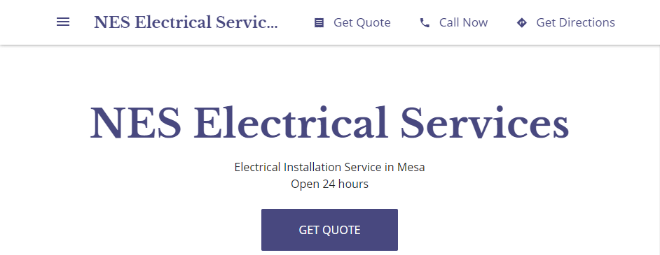 Reliable Electricians in Mesa