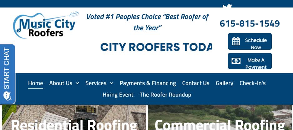 Safe Roofing Contractors in Nashville