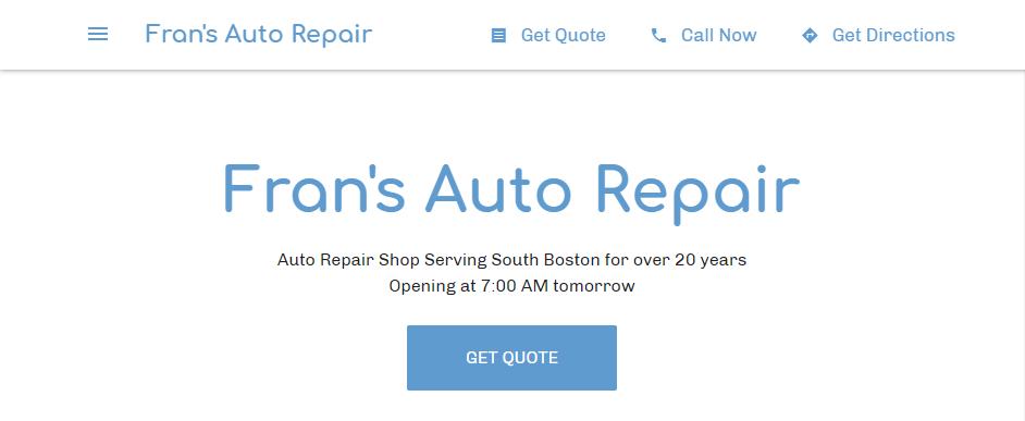 Skilled Mechanic Shops in Boston