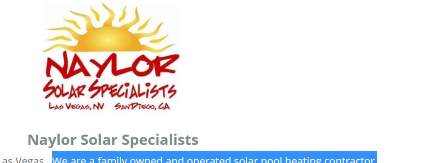 Top-rated Solar Panels in Las Vegas