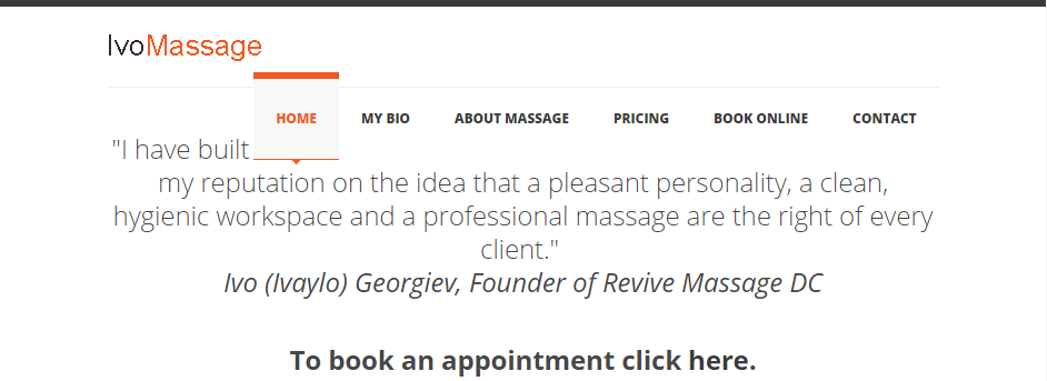 Reliable Massage Therapy in Washington