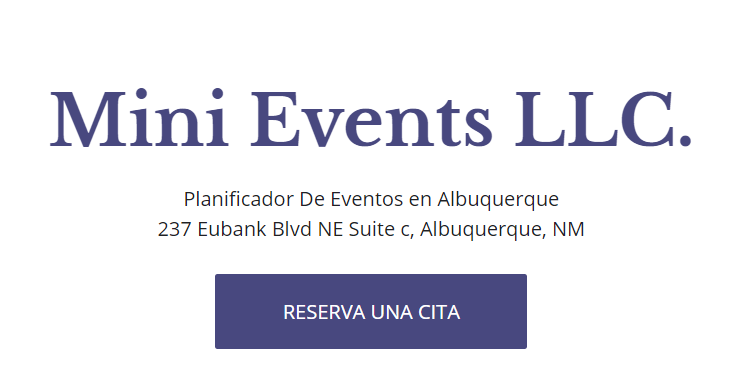 party planners in Albuquerque