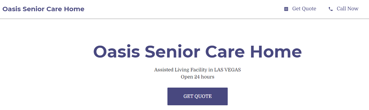 calm Best Aged Care Homes in Las Vegas