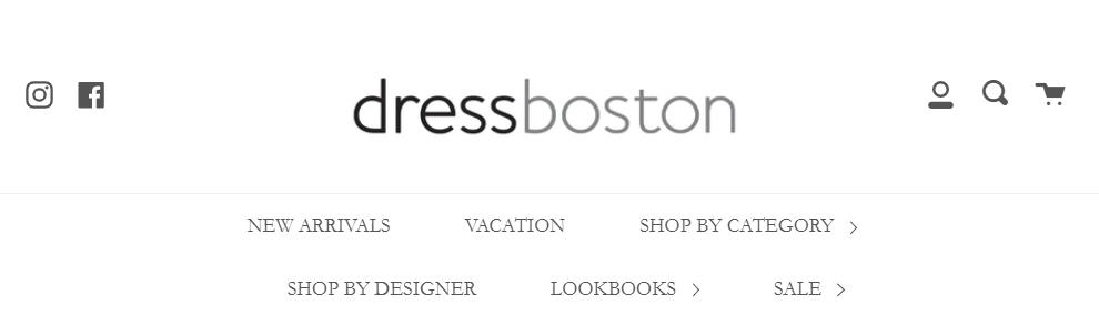 dress shops in Boston