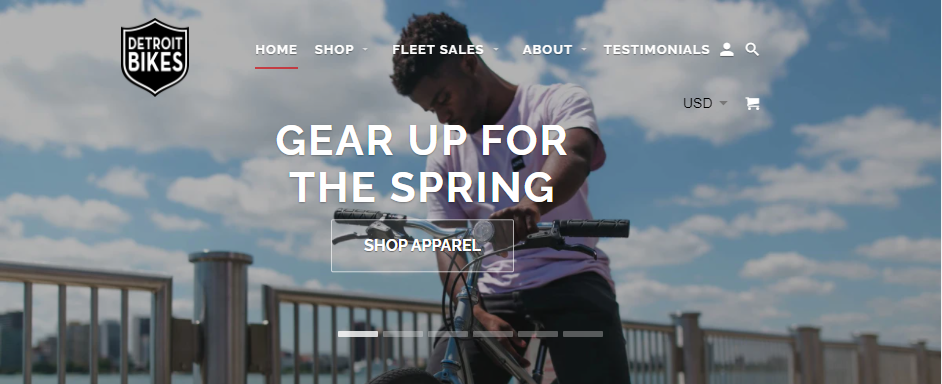 Available Bike Shops in Detroit
