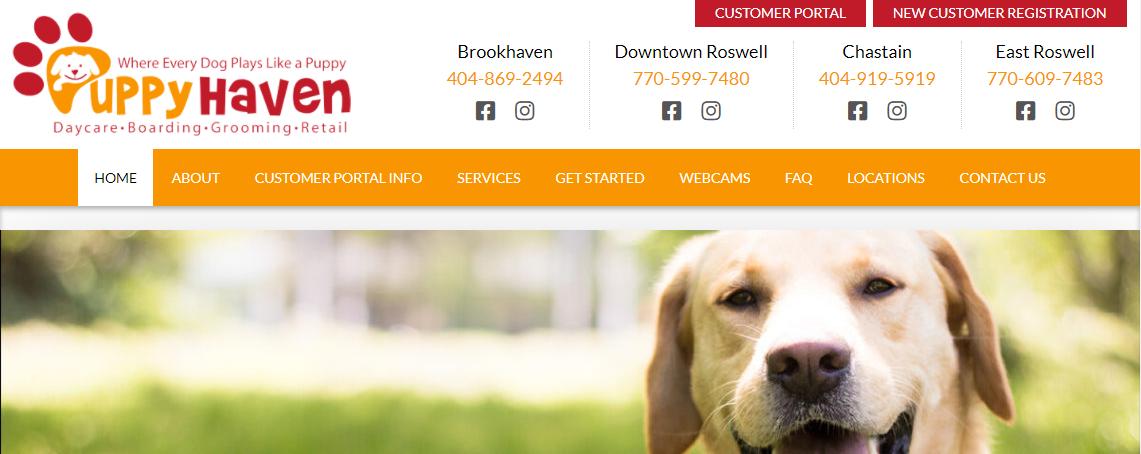Puppy Haven Doggy Day Care Centers in Atlanta, GA