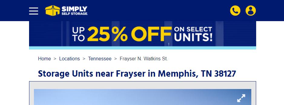 Comprehensive Self Storage Facilities in Memphis