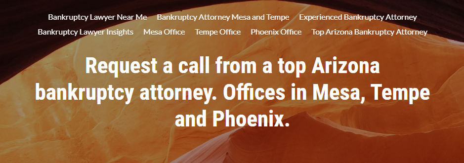 Skilled Bankruptcy Attorneys in Mesa