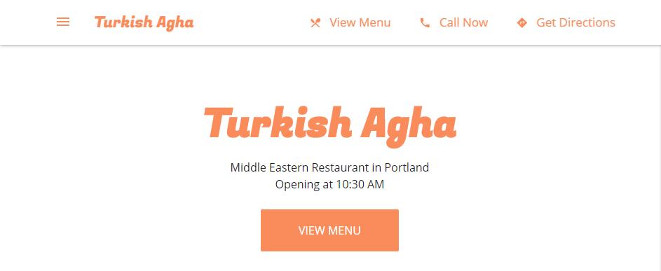 Legit Turkish Restaurants in Portland