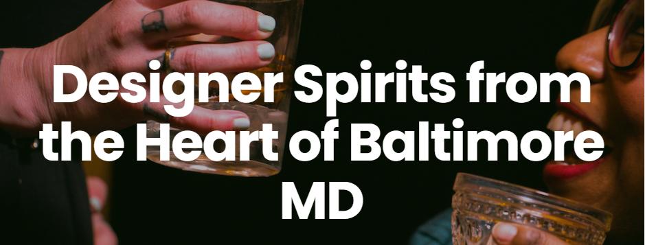 Adept Distilleries in Baltimore