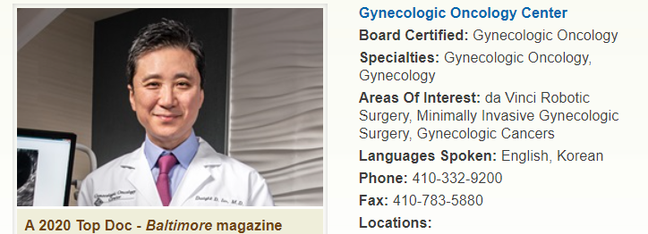 oncologists in Baltimore