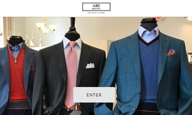 suit shops in Boston
