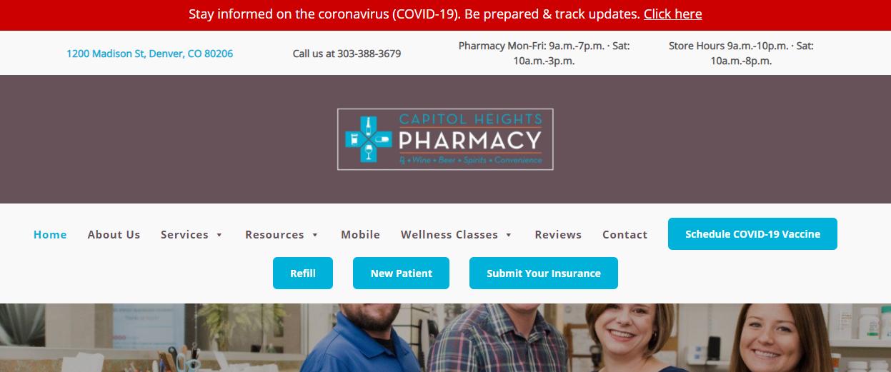 clean Pharmacy Shops in Denver