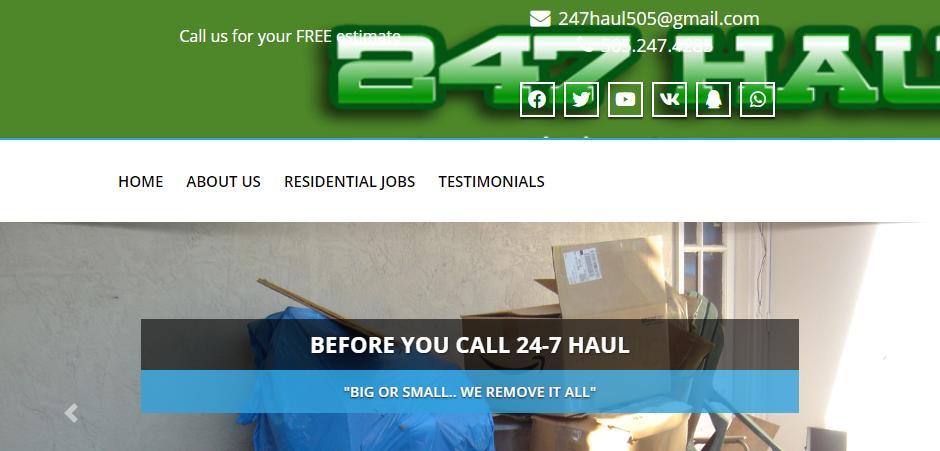 Commercial Rubbish Removal Services in Albuquerque