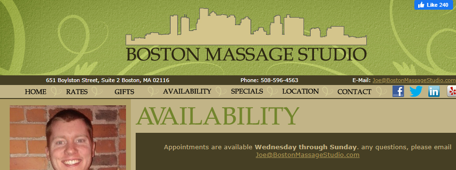 Affordable Massage Therapy in Boston