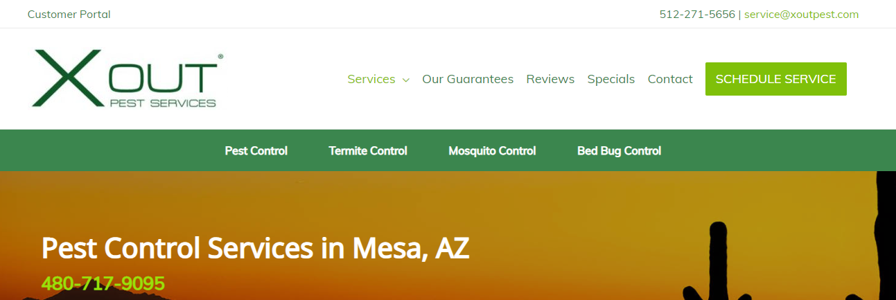 clean Best Exterminators in Mesa