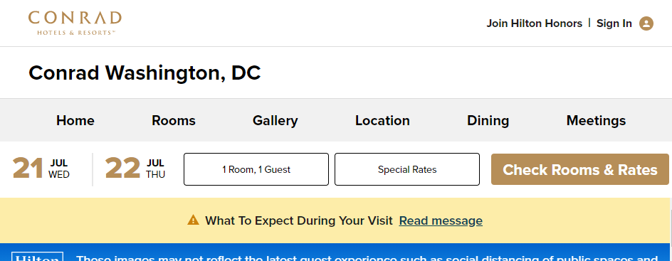 Quality Hotels in Washington