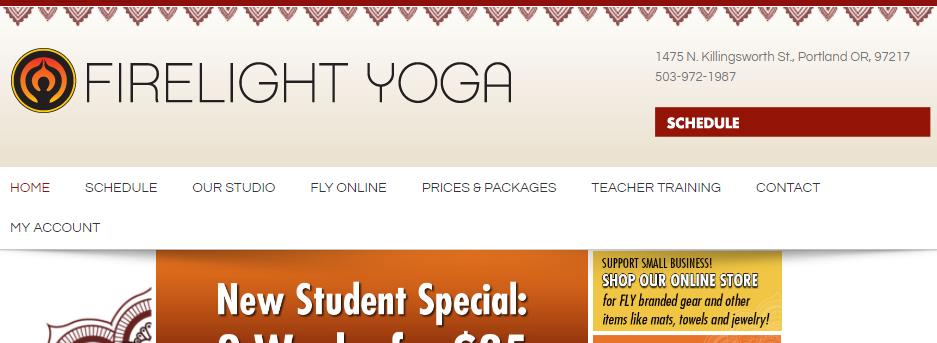 Professional Yoga Studios in Portland