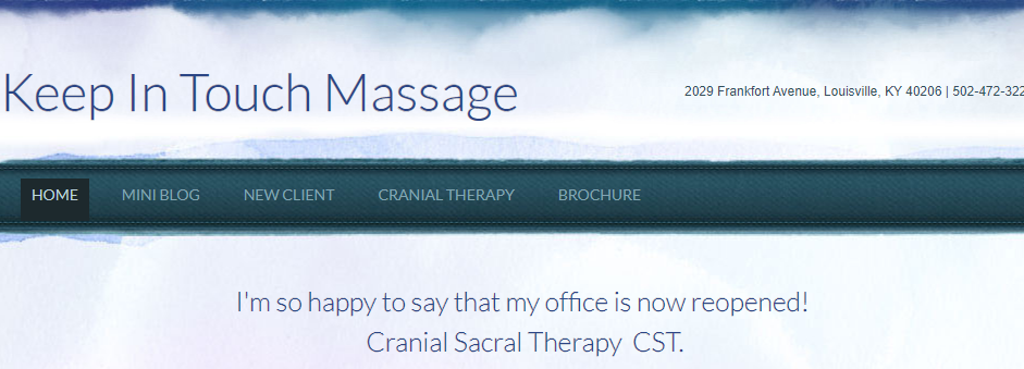 Proficient Massage Therapy in Louisville