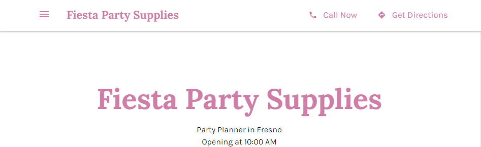 Amazing Party Planning in Fresno, CA