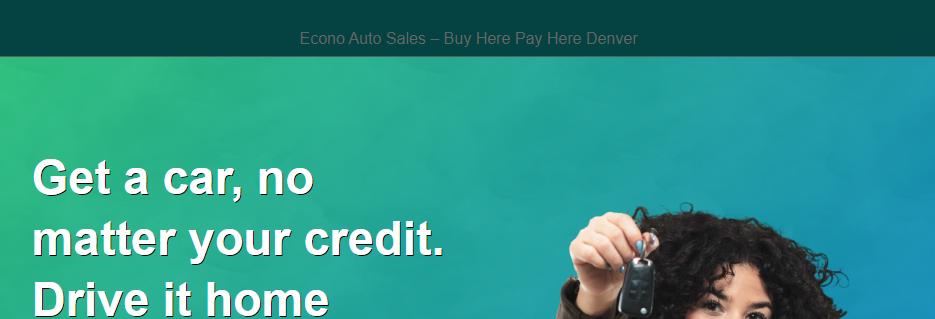 Affordable Used Car Dealers in Denver, CO