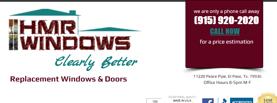 Affordable Window Companies in El Paso