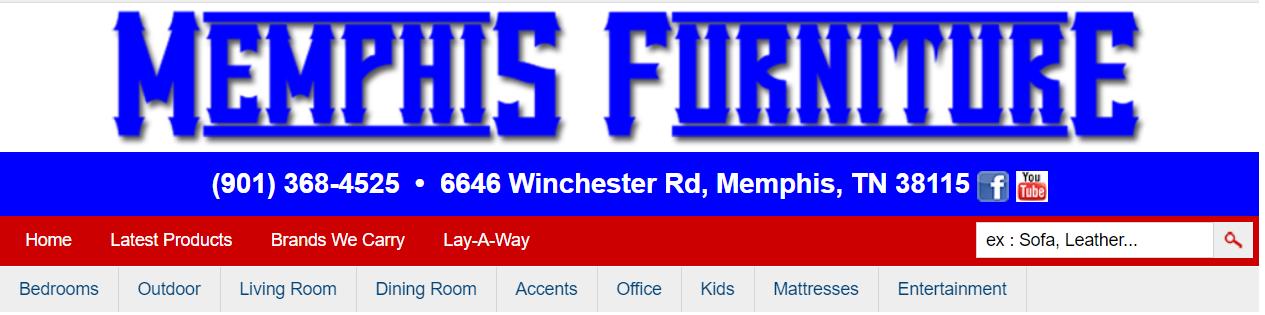 furniture stores in Memphis