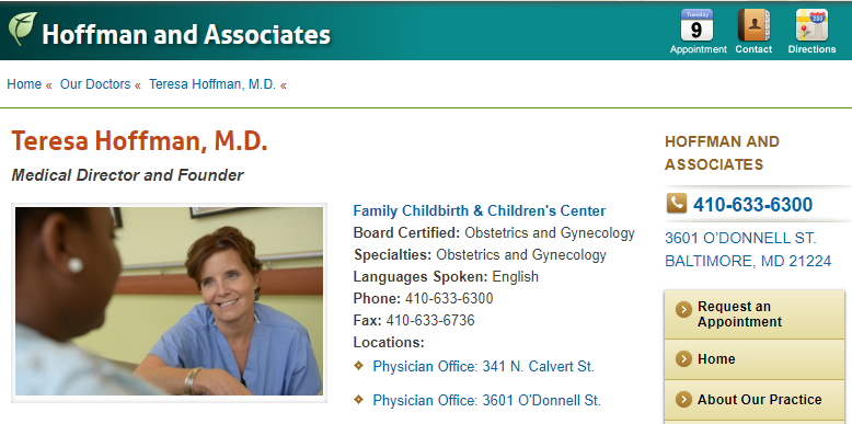 Outstanding Gynaecologists in Baltimore, MD