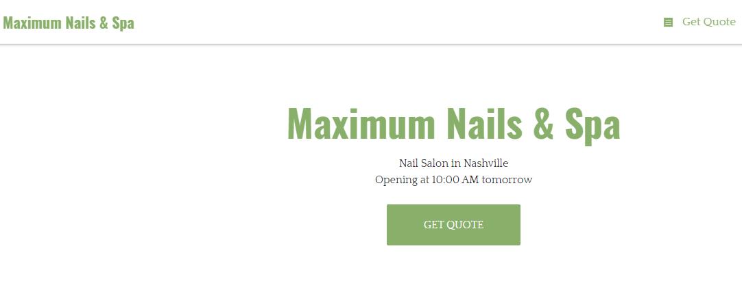 max Best Nail Salons in Nashville