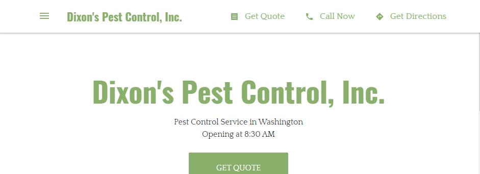 Amazing Exterminators in Washington, DC