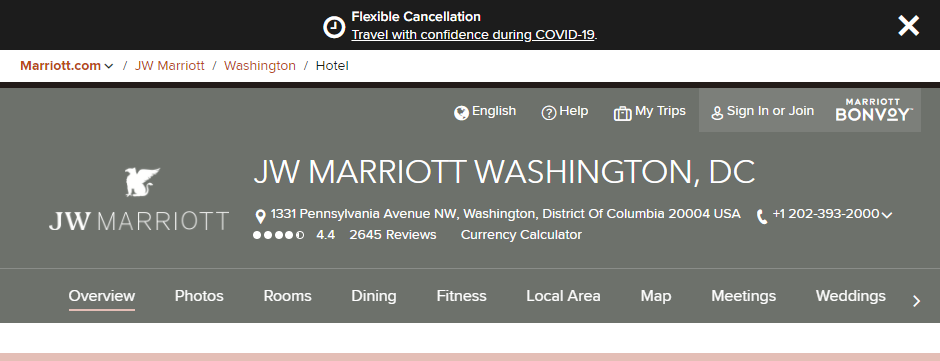 High-End Hotels in Washington