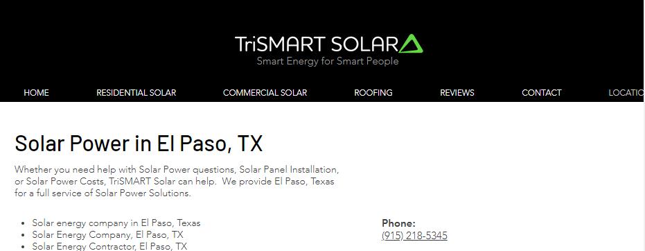 Efficient Solar Panels in El Paso