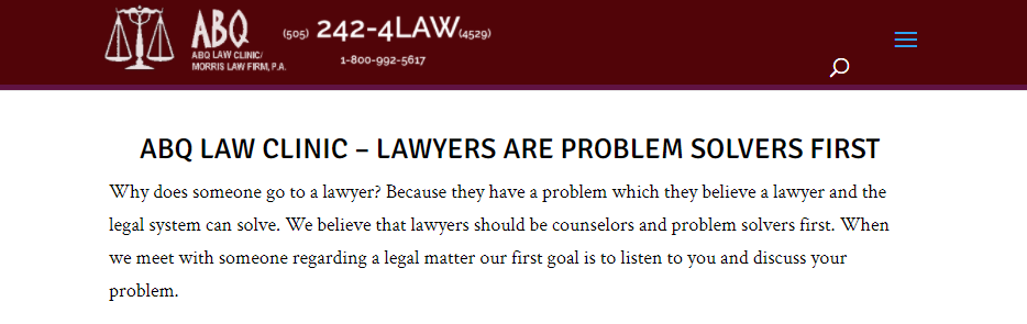 Outstanding Consumer Protection Attorneys in Albuquerque, NM