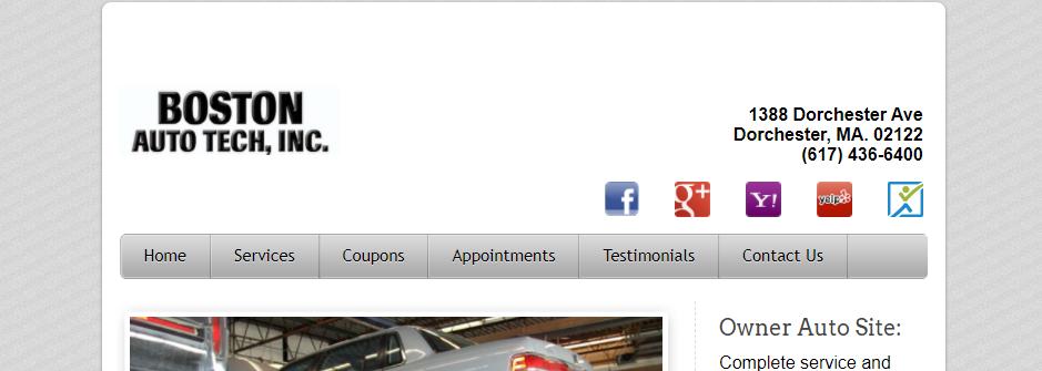 Comprehensive Mechanic Shops in Boston