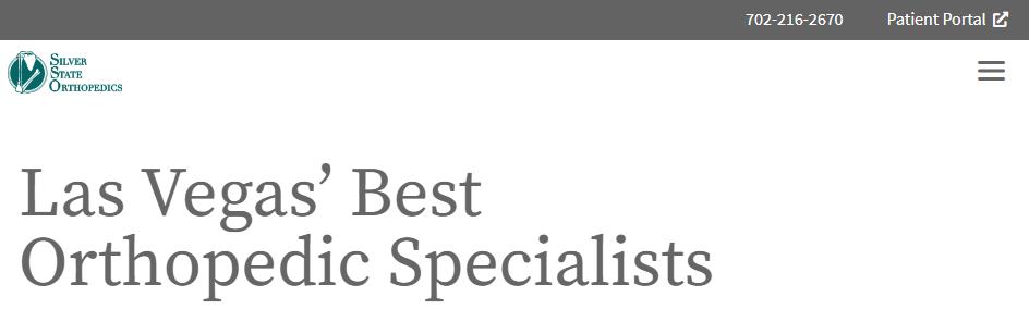 Finest Orthopediatrician in Las Vegas, NV