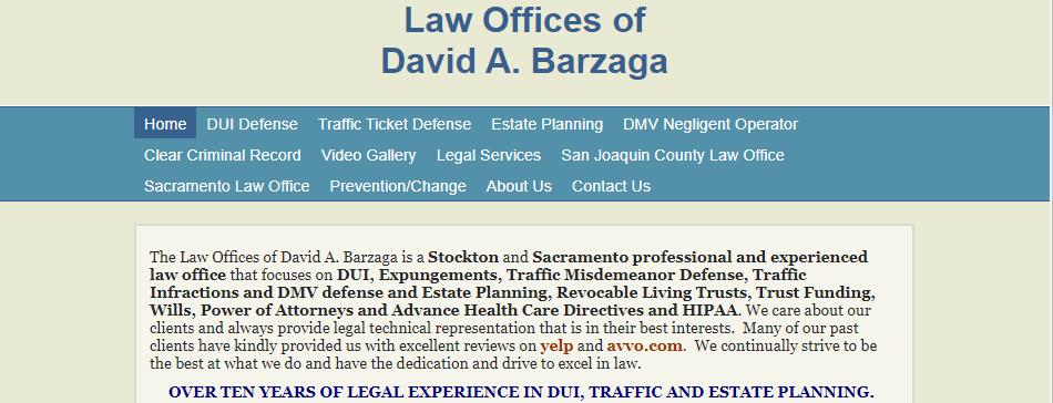 Excellent Traffic Attorneys in Sacramento, CA