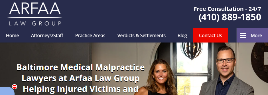 Professional Medical Malpractice Attorneys in Baltimore