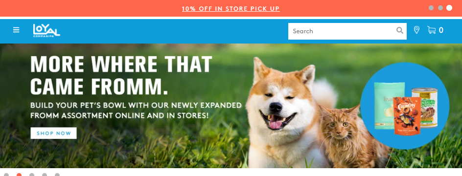 Splendid Pet Shops in Boston