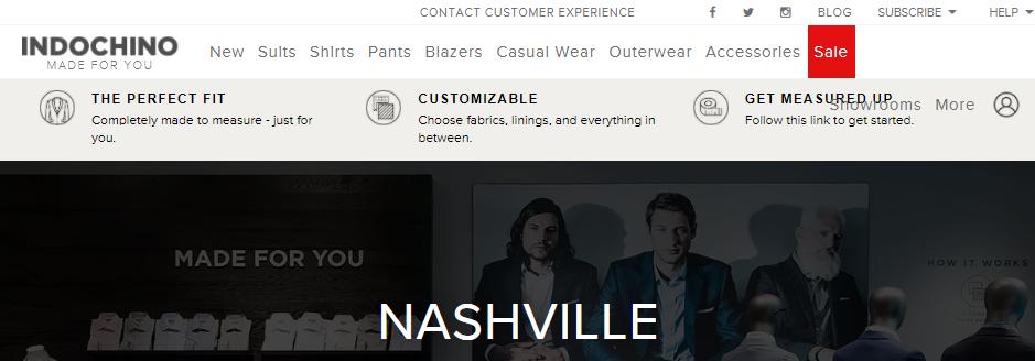 Magnificent Suit Shops in Nashville