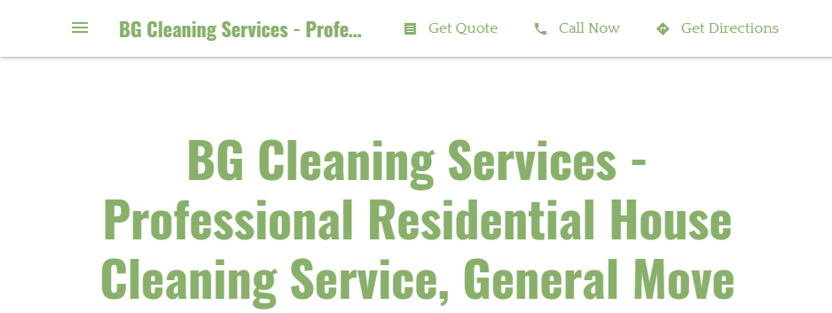Cost-Effective Cleaning Services in Nashville