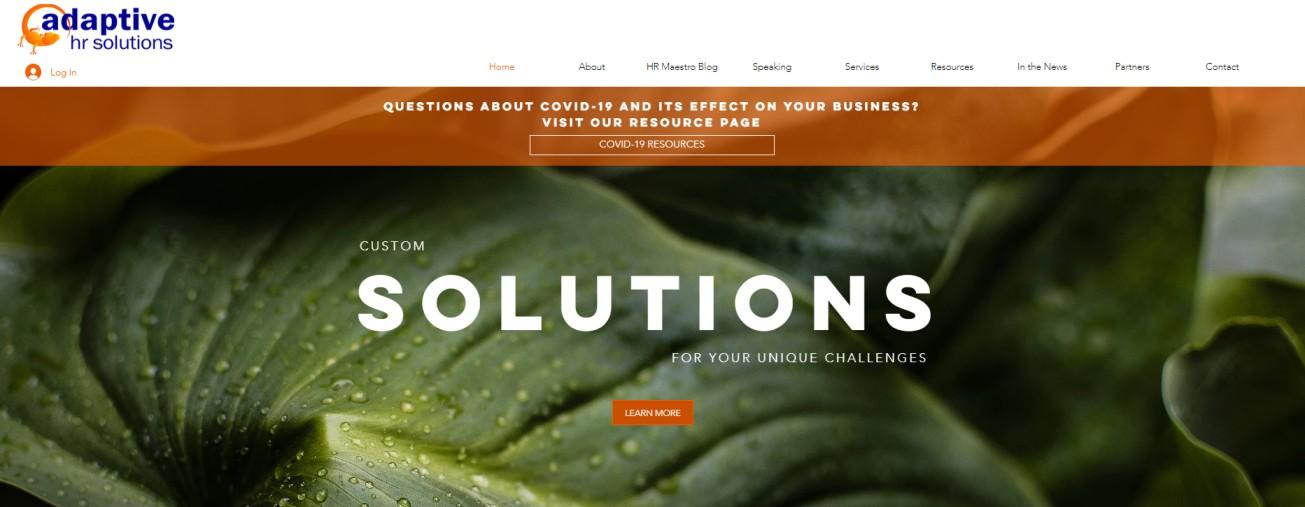 Adaptive HR Solutions