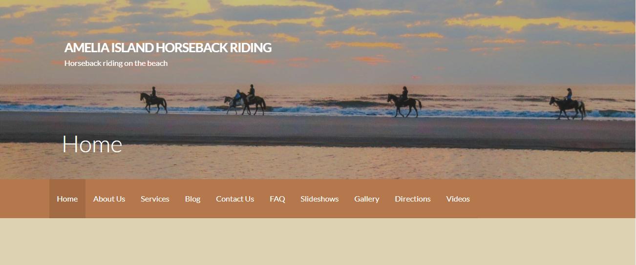 Amelia Island Horseback Riding in Jacksonville, FL