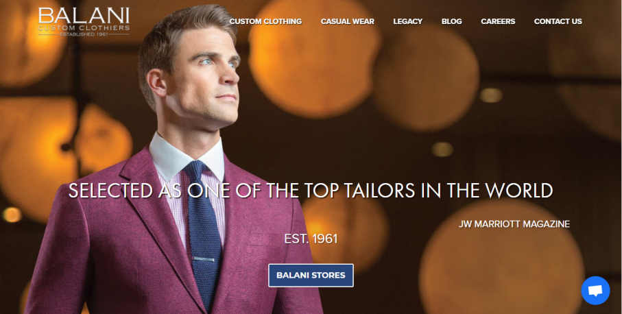 BALANI Custom Clothiers in Columbus, OH
