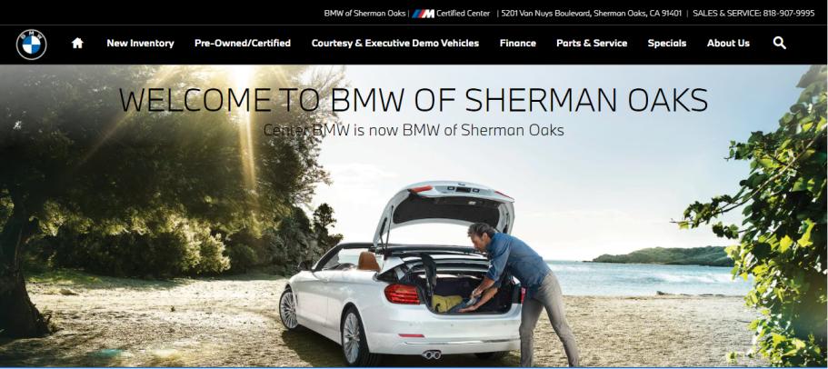 BMW of Sherman Oaks in Los Angeles, CA