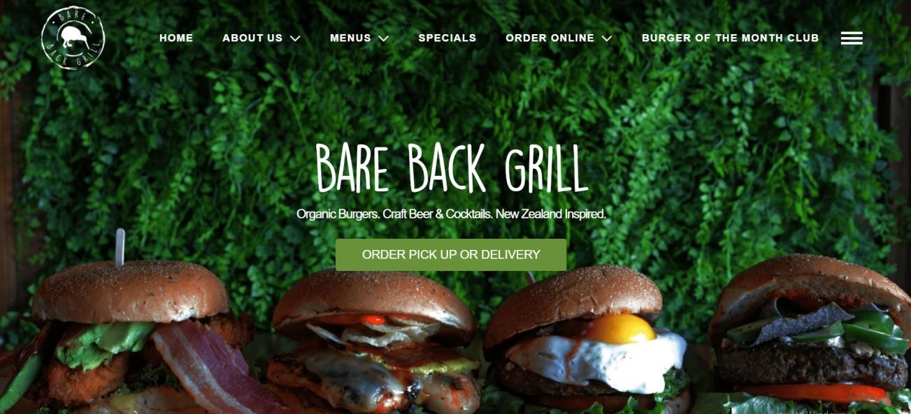 Bare Back Grill
